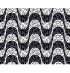 Wave pavement pattern vector