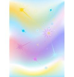Wavy mesh background vector image