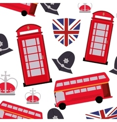 england pattern background icon vector image