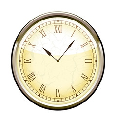 old fashioned clock vector image
