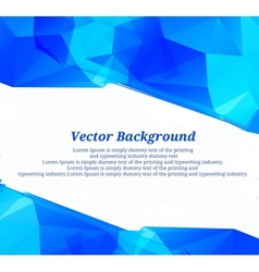 Background blue color vector image