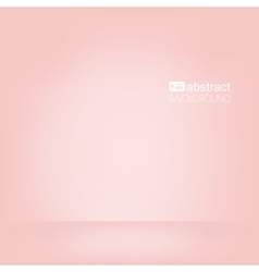 Background pink empty room mock up vector
