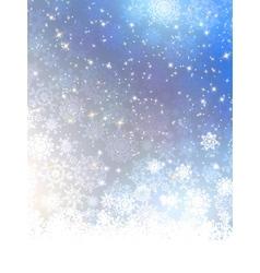 Elegant blue christmas background EPS 8 vector