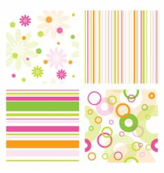 pattern samples vector image