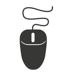 Computer mouse pointer isolated icon design vector image vector image