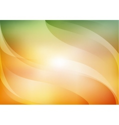 orange and green background vector image