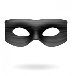 zorro mask vector image vector image