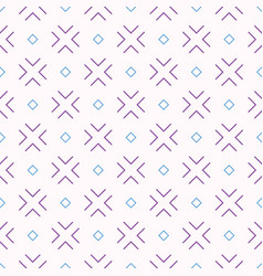 abstract seamless pattern in diagonal arrangement vector image