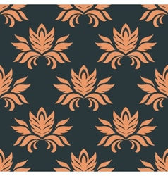 Floral seamless floral pattern vector image
