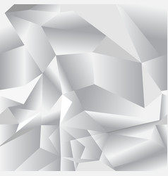Geometric seamless pattern from triangles gray vector