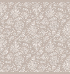 paisley beautiful seamless background vector image