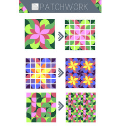 Patterns for patchwork vector