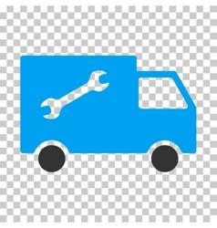 Repair Van Eps Icon vector image
