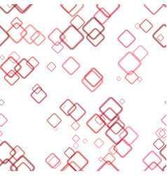 seamless abstract geometric square background vector image