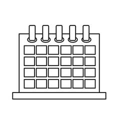 calendar event schedule vector image