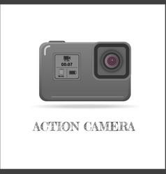 action extreme camera symbol esp10 vector image vector image