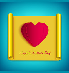 Amorous greeting background vector