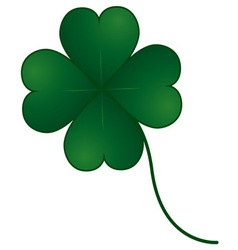 Clover four leaf vector
