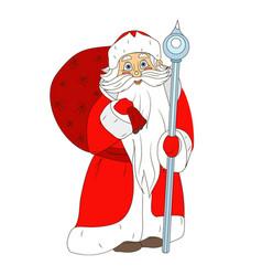 fabulous santa claus vector image