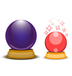 magic ball vector image