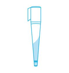 Marker draw utensil vector