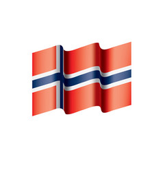 Norway flag vector