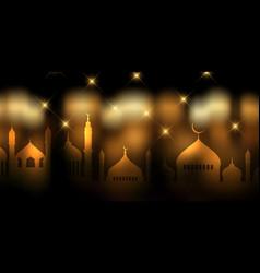 Ramadan kareem banner design vector