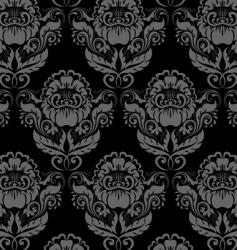 rococo background vector image