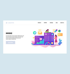Web site design template business vector