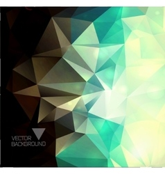 Abstract colorful polygonal vector image