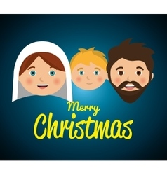 Merry christmas cartoons vector image