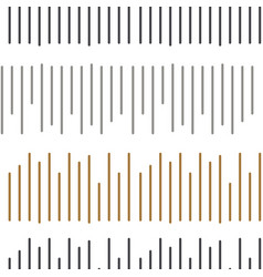 simple stitch embroidery seamless pattern vector image vector image