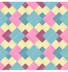 abstract checkered pattern vector image vector image