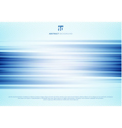 abstract blue horizontal lines motion blur vector image