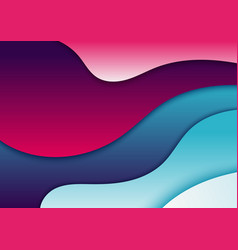abstract fluid gradient shapes trendy background vector image