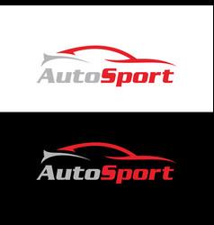 Autosport logo vector
