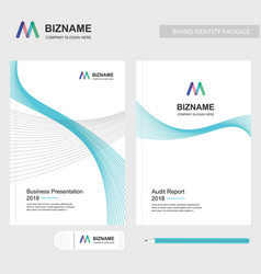 company brochure with elegent design and also vector image