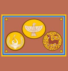 Flag eastern province is provinces sri vector