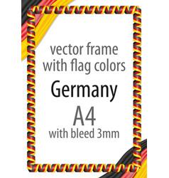 Flag v10 germany vector