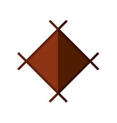 Geometric shape symbol vector
