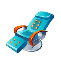 Icon massage chair vector