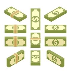 Isometric bundles of paper money vector