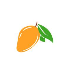 mango tropical juicy fruit isolated vector image