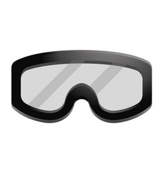Military goggles icon vector