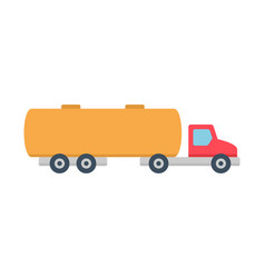 Tanker truck icon vector