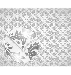 Vintage Floral Design in Neutral Tones vector