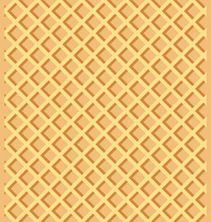 waffle texture beautiful banner wallpaper design vector image