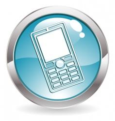 gloss button vector image vector image