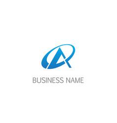 Initial a company logo vector