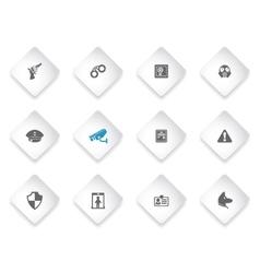 Security Icon Set vector image